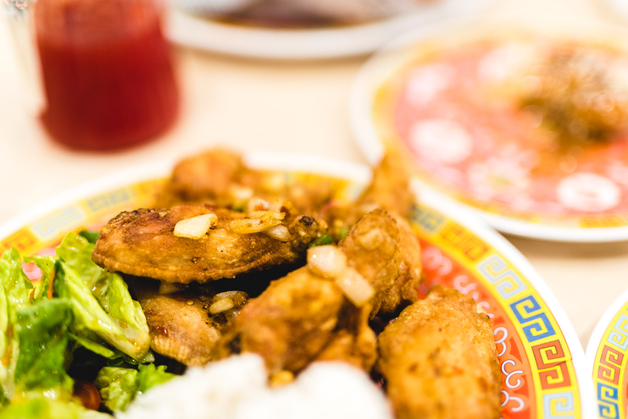 Jeff On The Road - Montreal - Food - Maneki Comptoir Asiat' - Salt and Pepper Chicken Wings