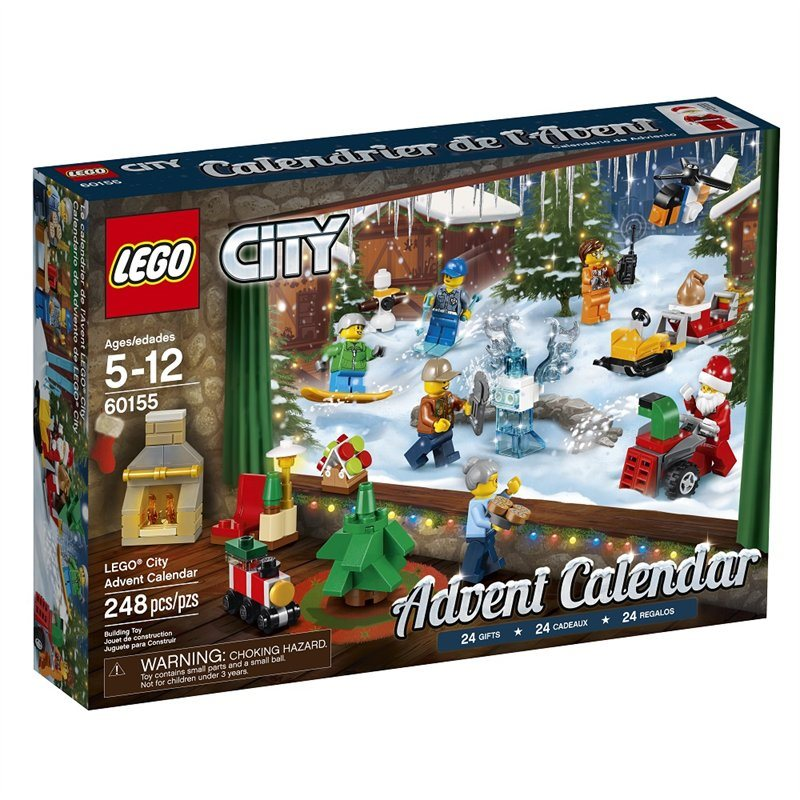 Jeff On The Road - Holidays - Gifts - The 10 Best Advent Calendars For Men - LEGO City Advent Calendar