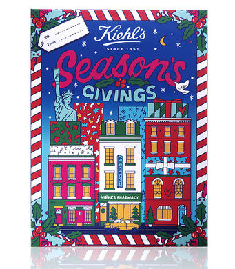 Jeff On The Road - Holidays - Gifts - The 10 Best Advent Calendars For Men - Kiehl's Advent Calendar