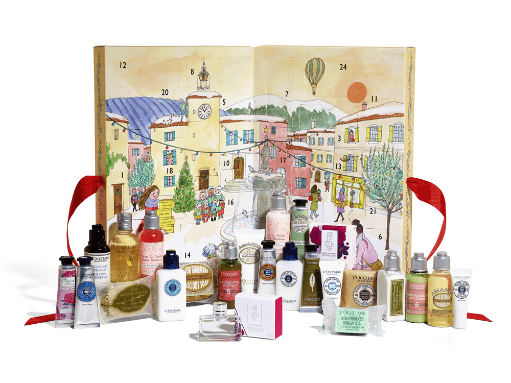 Jeff On The Road - Holidays - Gifts - The 10 Best Advent Calendars For Men - L'Occitane Signature Advent Calendar