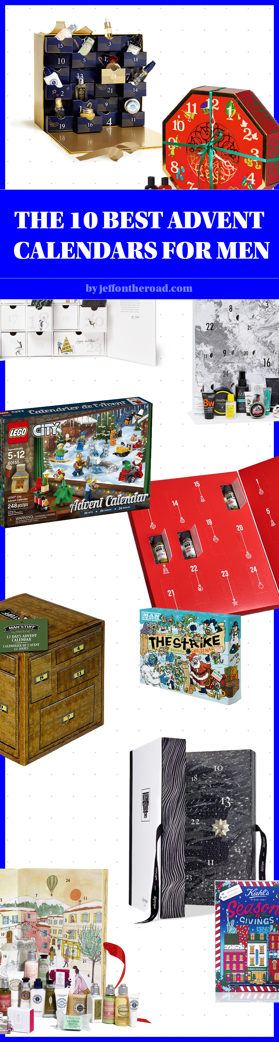 Jeff On The Road - Holidays - Gifts - The 10 Best Advent Calendars For Men