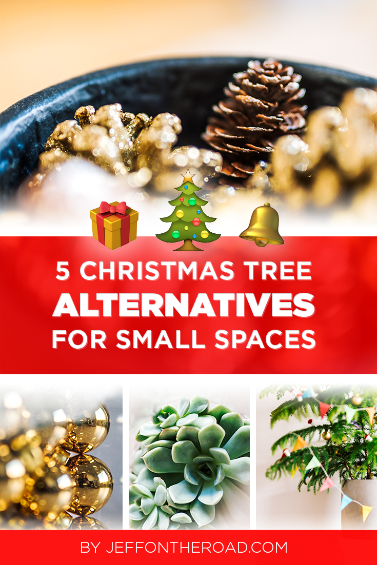 Running out of space in your small apartment or condo? Check out these 5 Christmas tree alternatives I came up with. Perfect for the city dweller that is into the Christmas spirit! Ho, ho, ho! #christmastree #xmastree #xmas #christmastreealternatives #lifestyle #holidays