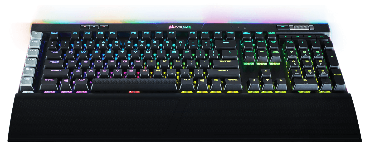 jeffontheroad-gift-ideas-gamers-streamers-corsair-mechanical-keyboard-rgb