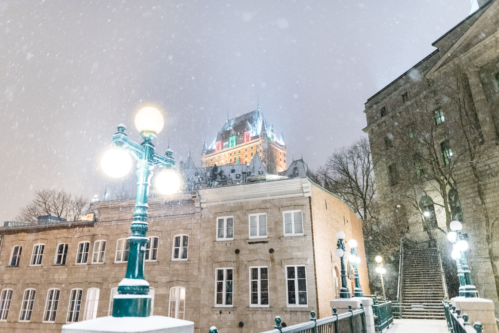 Jeff On The Road - Travel - Winter Wonderland in Quebec City - All photos are under Copyright © 2017 Jeff Frenette Photography / dezjeff. To use the photos, please contact me at dezjeff@me.com.
